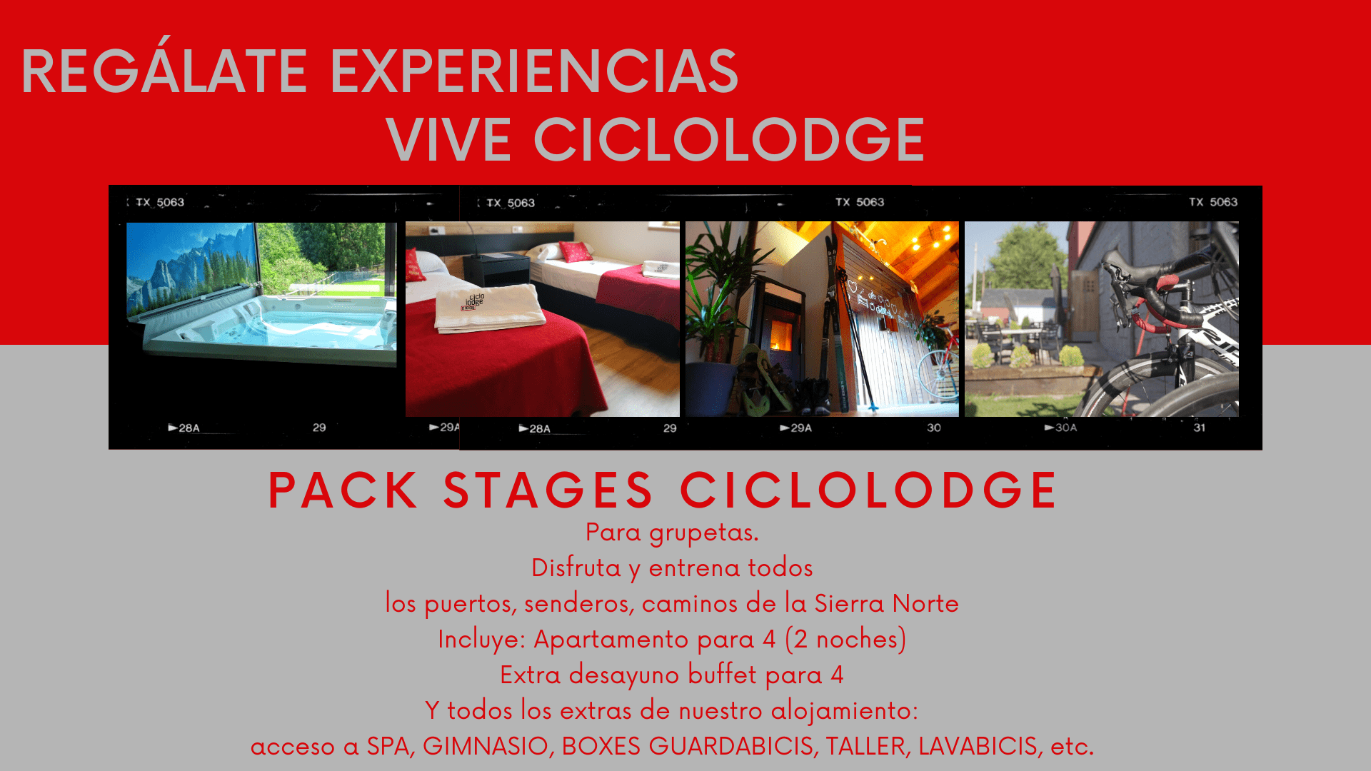 stages ciclolodge
